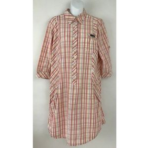 Columbia PFG Bonehead Multi-color Plaid Shirt XL